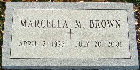 BROWN, MARCELLA M - Franklin County, Ohio | MARCELLA M BROWN - Ohio Gravestone Photos
