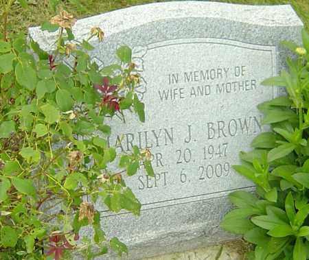 BROWN, MARILYN J - Franklin County, Ohio | MARILYN J BROWN - Ohio Gravestone Photos