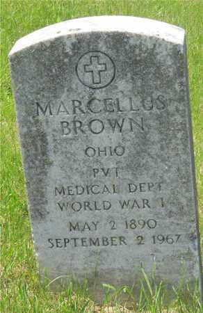 BROWN, MARCELLUS - Franklin County, Ohio   MARCELLUS BROWN - Ohio Gravestone Photos