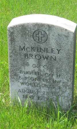 BROWN, MCKINLEY - Franklin County, Ohio | MCKINLEY BROWN - Ohio Gravestone Photos