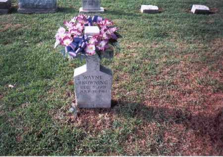 BROWNING, WAYNE - Franklin County, Ohio   WAYNE BROWNING - Ohio Gravestone Photos
