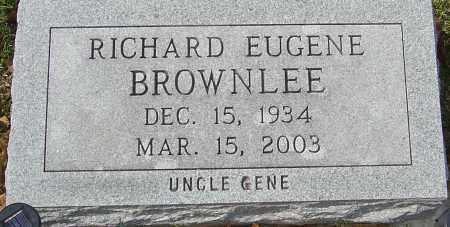 BROWNLEE, RICHARD EUGENE - Franklin County, Ohio | RICHARD EUGENE BROWNLEE - Ohio Gravestone Photos