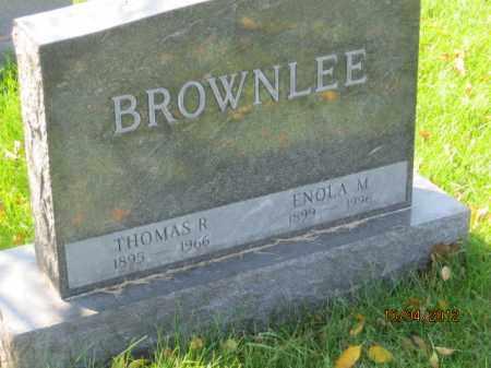 HETRICK BROWNLEE, ENOLA MAE - Franklin County, Ohio | ENOLA MAE HETRICK BROWNLEE - Ohio Gravestone Photos