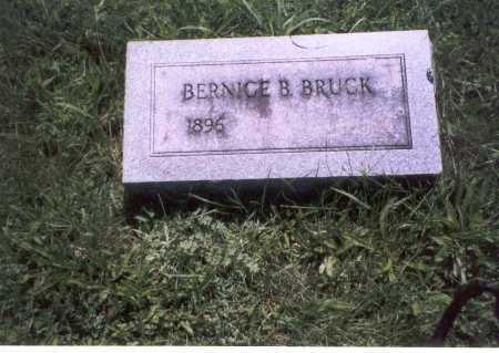 BRUCK, BERNICE B - Franklin County, Ohio | BERNICE B BRUCK - Ohio Gravestone Photos