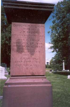 ELL BRUCK, MARGARETHA B. - Franklin County, Ohio | MARGARETHA B. ELL BRUCK - Ohio Gravestone Photos