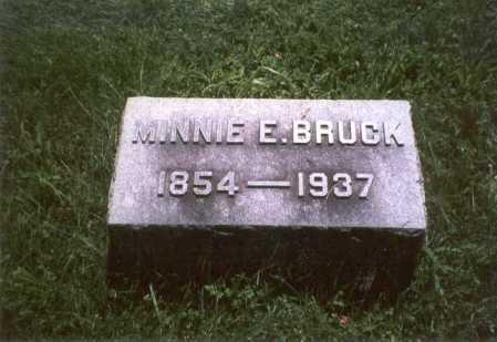 BRUCK, MINNIE - Franklin County, Ohio | MINNIE BRUCK - Ohio Gravestone Photos