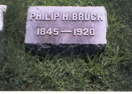 BRUCK, PHILIP H. - Franklin County, Ohio | PHILIP H. BRUCK - Ohio Gravestone Photos
