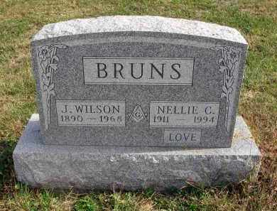 BRUNS, NELLIE C. - Franklin County, Ohio   NELLIE C. BRUNS - Ohio Gravestone Photos