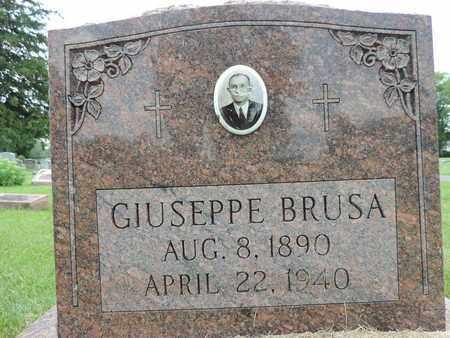 BRUSA, GIUSEPPE - Franklin County, Ohio   GIUSEPPE BRUSA - Ohio Gravestone Photos