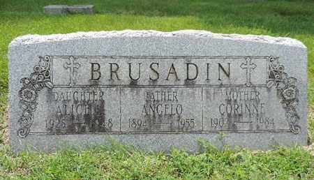 BRUSADIN, CORINNE - Franklin County, Ohio | CORINNE BRUSADIN - Ohio Gravestone Photos