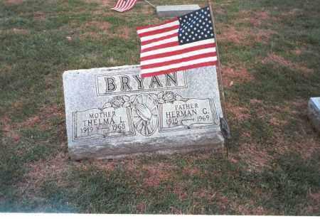 BRYAN, HERMAN - Franklin County, Ohio   HERMAN BRYAN - Ohio Gravestone Photos