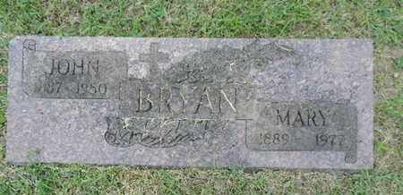 BRYAN, MARY - Franklin County, Ohio | MARY BRYAN - Ohio Gravestone Photos