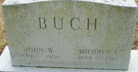 BUCH, MILDRED E - Franklin County, Ohio | MILDRED E BUCH - Ohio Gravestone Photos