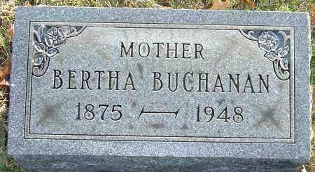 BUCHANAN, BERTHA - Franklin County, Ohio | BERTHA BUCHANAN - Ohio Gravestone Photos
