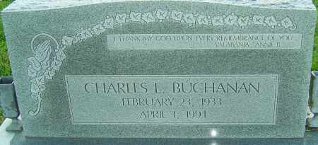 BUCHANAN, CHARLES E - Franklin County, Ohio | CHARLES E BUCHANAN - Ohio Gravestone Photos