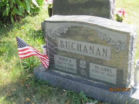 BUCHANAN, JOHN R - Franklin County, Ohio | JOHN R BUCHANAN - Ohio Gravestone Photos