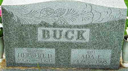 BUCK, ADA ELIZABETH - Franklin County, Ohio | ADA ELIZABETH BUCK - Ohio Gravestone Photos
