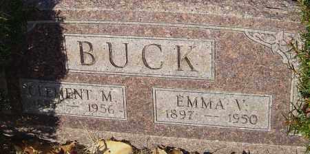 BUCK, EMMA - Franklin County, Ohio | EMMA BUCK - Ohio Gravestone Photos