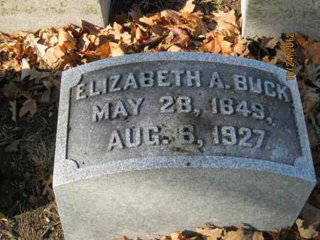 "BUCK, ELIZABETH ANNE ""LIBBIE"" - Franklin County, Ohio 