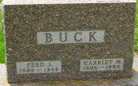 BUCK, HARRIET M - Franklin County, Ohio | HARRIET M BUCK - Ohio Gravestone Photos
