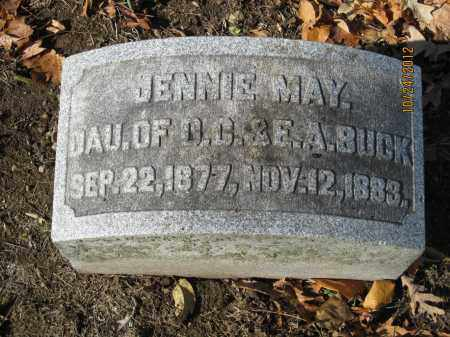 BUCK, JENNIE MAY - Franklin County, Ohio   JENNIE MAY BUCK - Ohio Gravestone Photos