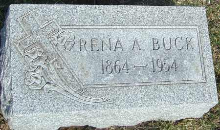 BUCK, RENA A - Franklin County, Ohio | RENA A BUCK - Ohio Gravestone Photos