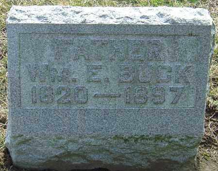 BUCK, WILLIAM EDWARD - Franklin County, Ohio   WILLIAM EDWARD BUCK - Ohio Gravestone Photos