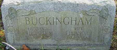 BUCKINGHAM, ELEANOR - Franklin County, Ohio | ELEANOR BUCKINGHAM - Ohio Gravestone Photos