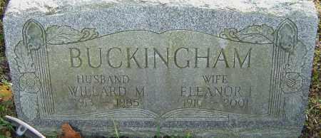 LOCKE BUCKINGHAM, ELEANOR - Franklin County, Ohio | ELEANOR LOCKE BUCKINGHAM - Ohio Gravestone Photos
