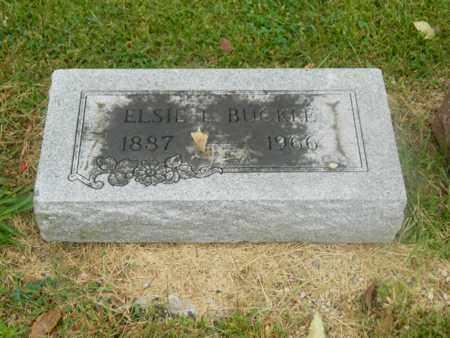 HAZELWOOD BUCKLE, ELSIE - Franklin County, Ohio | ELSIE HAZELWOOD BUCKLE - Ohio Gravestone Photos