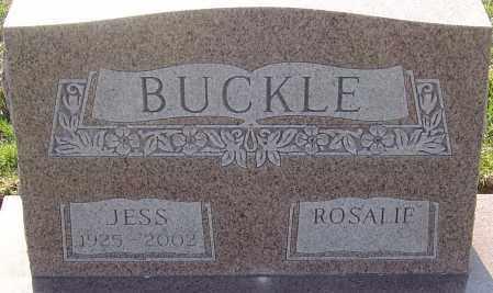 BUCKLE, JESS - Franklin County, Ohio | JESS BUCKLE - Ohio Gravestone Photos