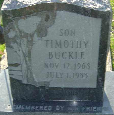 BUCKLE, TIMOTHY - Franklin County, Ohio | TIMOTHY BUCKLE - Ohio Gravestone Photos
