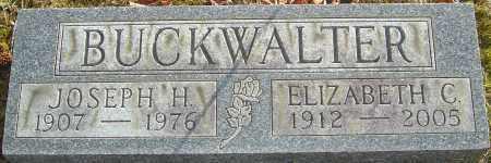 BUCKWALTER, ELIZABETH - Franklin County, Ohio | ELIZABETH BUCKWALTER - Ohio Gravestone Photos