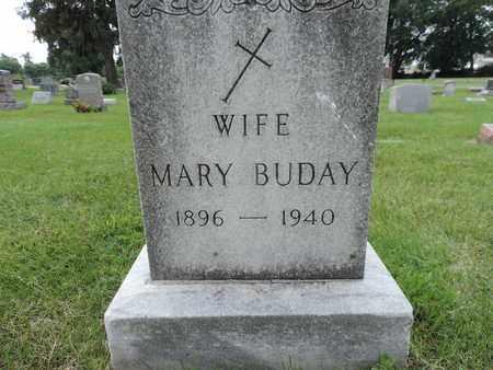 BUDAY, MARY - Franklin County, Ohio   MARY BUDAY - Ohio Gravestone Photos
