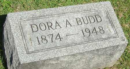 BUDD, DORA A - Franklin County, Ohio | DORA A BUDD - Ohio Gravestone Photos