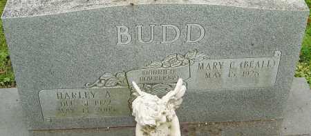 BUDD, HARLEY - Franklin County, Ohio | HARLEY BUDD - Ohio Gravestone Photos