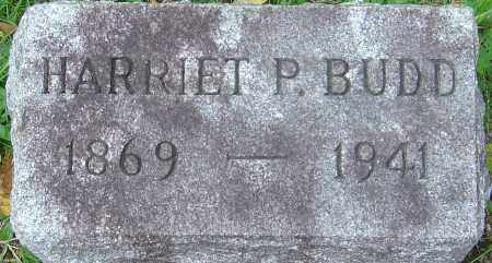 BUDD, HARRIET - Franklin County, Ohio | HARRIET BUDD - Ohio Gravestone Photos