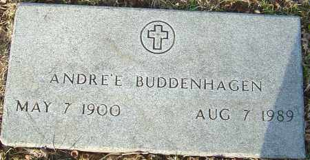 BUDDENHAGEN, ANDRE'E - Franklin County, Ohio | ANDRE'E BUDDENHAGEN - Ohio Gravestone Photos