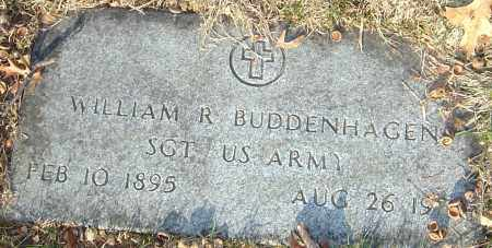 BUDDENHAGEN, WILLIAM R - Franklin County, Ohio | WILLIAM R BUDDENHAGEN - Ohio Gravestone Photos