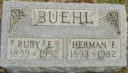 BUEHL, HERMAN FRIEDERICK - Franklin County, Ohio | HERMAN FRIEDERICK BUEHL - Ohio Gravestone Photos