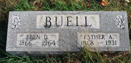 BUELL, ESTHER A. - Franklin County, Ohio | ESTHER A. BUELL - Ohio Gravestone Photos