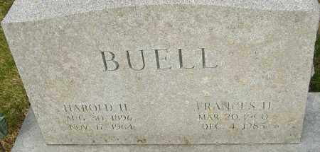 HELMICK BUELL, FRANCES - Franklin County, Ohio   FRANCES HELMICK BUELL - Ohio Gravestone Photos