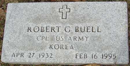 BUELL, ROBERT G - Franklin County, Ohio | ROBERT G BUELL - Ohio Gravestone Photos