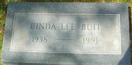 BUIT, CINDA LEE - Franklin County, Ohio   CINDA LEE BUIT - Ohio Gravestone Photos