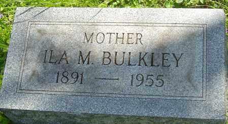 BULKLEY, ILA M - Franklin County, Ohio   ILA M BULKLEY - Ohio Gravestone Photos