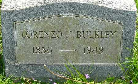 BULKLEY, LORENZO H - Franklin County, Ohio | LORENZO H BULKLEY - Ohio Gravestone Photos