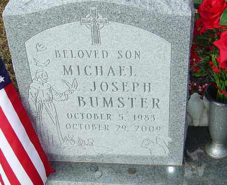 BUMSTER, MICHAEL JOSEPH - Franklin County, Ohio   MICHAEL JOSEPH BUMSTER - Ohio Gravestone Photos