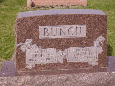 BUNCH, OPHIR G. - Franklin County, Ohio | OPHIR G. BUNCH - Ohio Gravestone Photos
