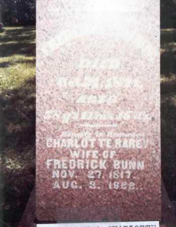 RAREY BUNN, CHARLOTTE - Franklin County, Ohio | CHARLOTTE RAREY BUNN - Ohio Gravestone Photos