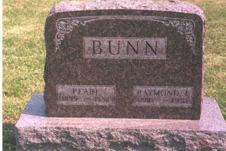 BUNN, RAYMOND J. - Franklin County, Ohio | RAYMOND J. BUNN - Ohio Gravestone Photos